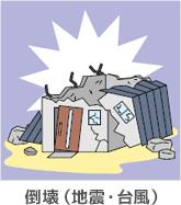 倒壊(地震・台風)
