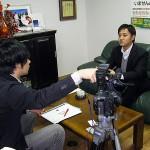 朝ズバッ!(TBS)の取材を受けました。明日放映されます!