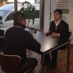 TBSニュース番組Nスタの取材を受けました!