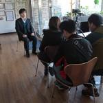 韓国放送公社(KBS)のドキュメンタリー『KBSパノラマ』から取材を受けました。