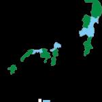 全国都道府県の空き家率の推移