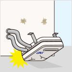 看板、給湯設備、屋上水槽等が破損又は脱落している/看板、給湯設備、屋上水槽等の支持部分が腐食している