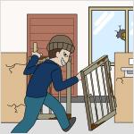 門扉が施錠されていない、窓ガラスが割れている等不特定の者が容易に侵入できる状態で放置されている