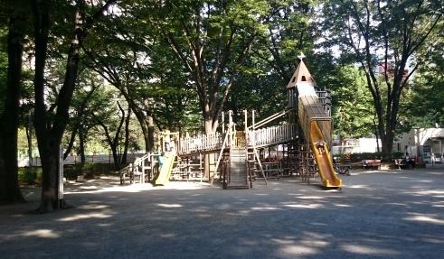 新宿中央公園の写真①
