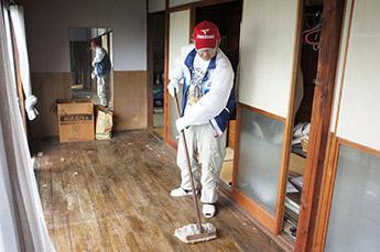 室内の掃除