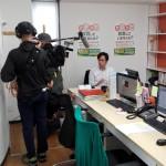 テレビ朝日系列「ワイド!スクランブル」で取材を受けました!