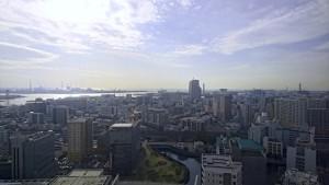 千葉県庁舎最上階のレストランから撮影した写真