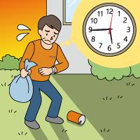 定期的な管理をおこなう上で発生する労力・時間